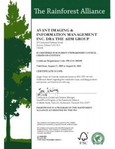 FSC Certificate Plwood Kontrplak